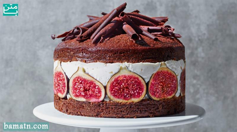آموزش طرز تهیه انواع کیک انجیر به همراه دستور پخت