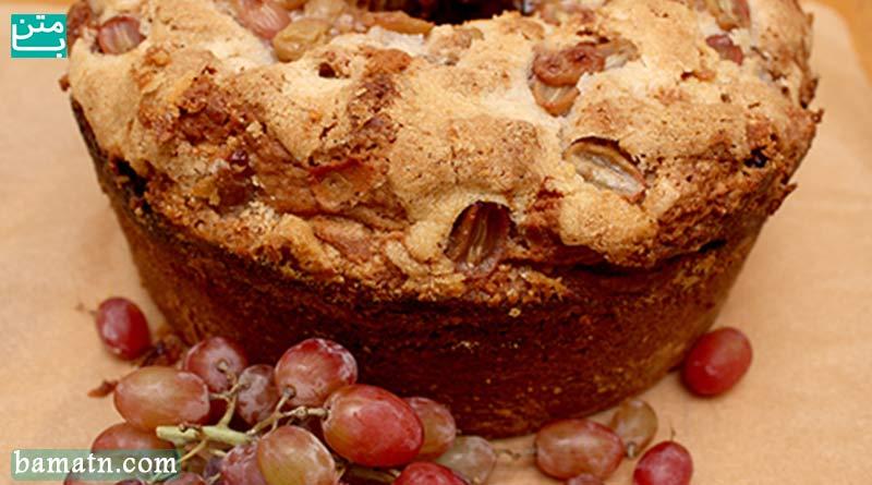آموزش طرز تهیه و پخت کیک شیره انگور