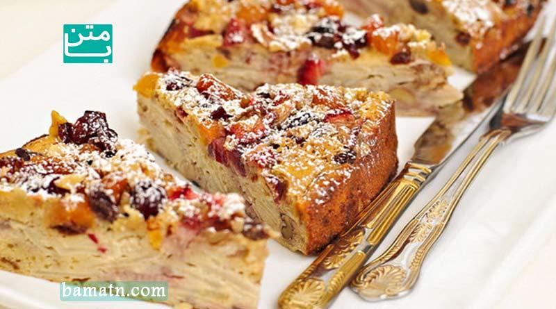 طرز تهیه کیک سیب وارونه به همراه دستور پخت