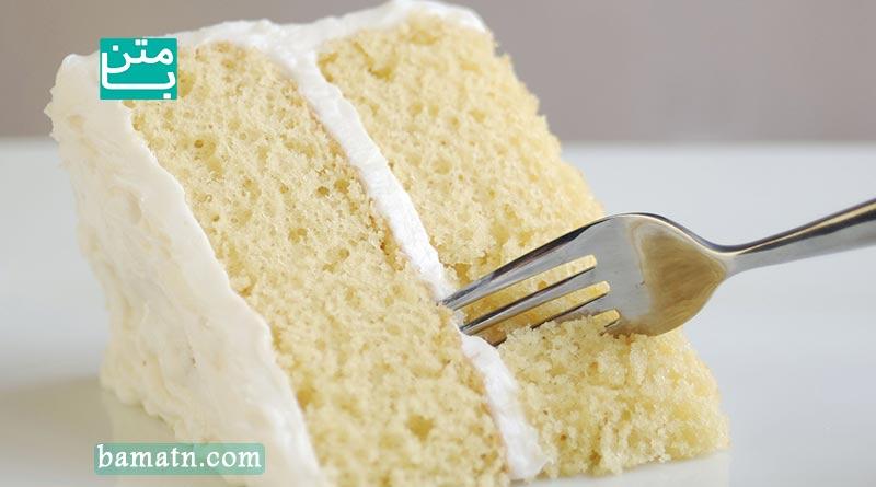 طرز تهیه کیک وانیلی نرم و پفی به همراه مواد لازم و دستور پخت