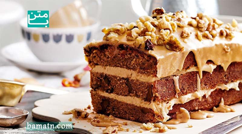 طرز تهیه انواع کیک های گردویی با ماست به همراه دستور پخت