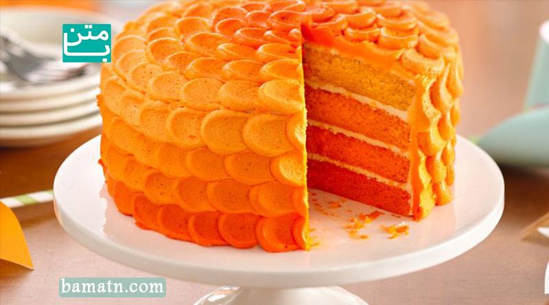 طرز تهیه کیک نارنگی در انواع ساده ، چند لایه و بدون گلوتن