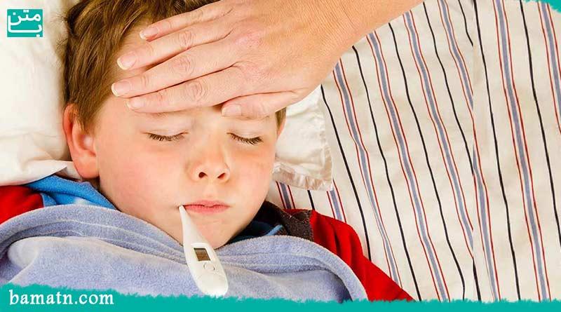 درمان تب و تشنج در کودکان به همراه راه های پیشگیری
