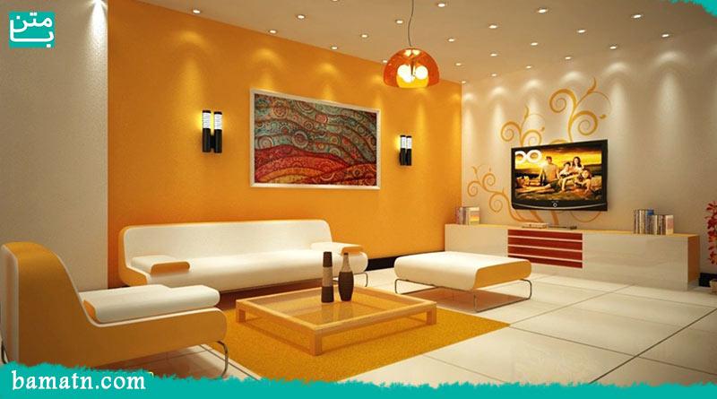 طراحی و ترکیب رنگ در دکوراسیون داخلی منزل
