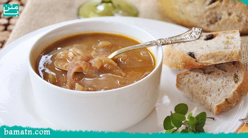 آموزش طرز تهیه سوپ پیاز فرانسوی ساده و خوشمزه