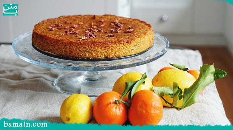 آموزش طرز تهیه کیک مرکبات با پرتقال و نارنگی