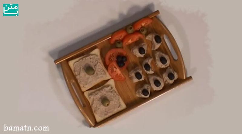 طرز تهیه فینگر فود راتا لوبیا چیتی فرانسوی