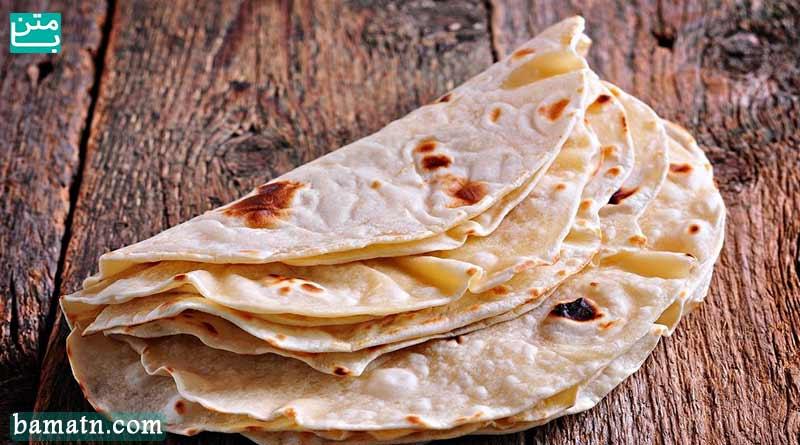 طرز تهیه نان تافتون خانگی ساده به همراه دستور پخت