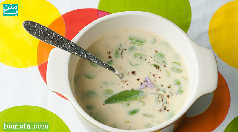 طرز تهیه سوپ شیر و قارچ به همراه خامه