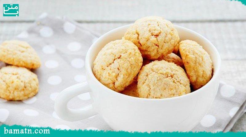 آموزش طرز تهیه شیرینی نارگیلی در فر خوشمزه با دستور پخت
