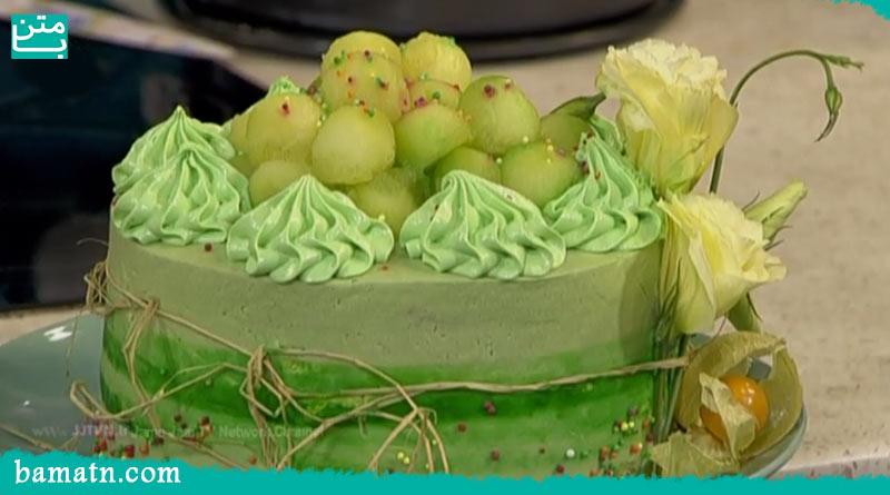 فیلم آموزش طرز تهیه کیک طالبی خوشمزه در فر