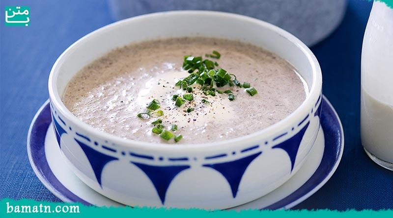 طرز تهیه سوپ قارچ و ذرت با شیر به همراه دستور پخت