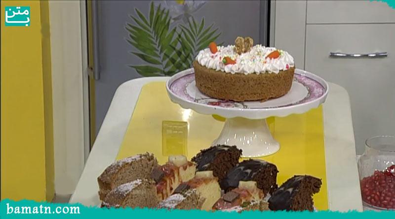 طرز تهیه کیک اسفناج خانگی ساده با لبو خوشمزه با دستور پخت