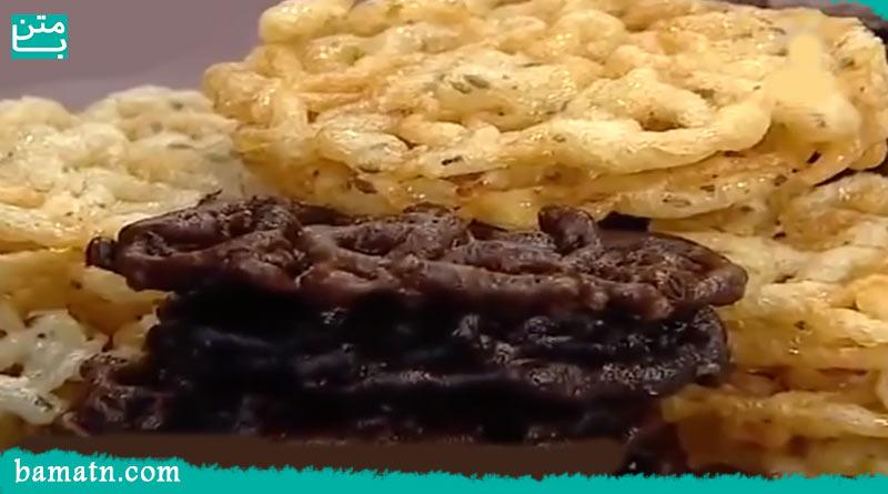 طرز تهیه زولبیا خانگی آسان و ساده با فیلم به همراه دستور پخت