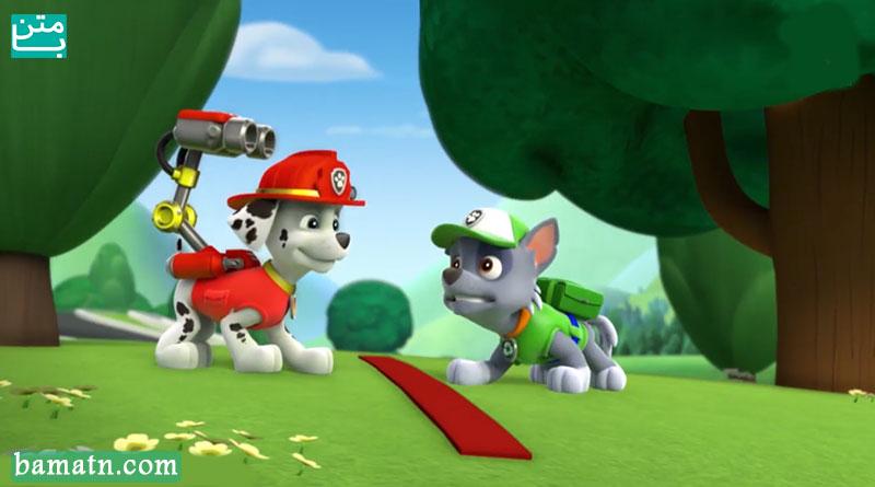 کارتون سگهای نگهبان دوبله فارسی - پاو پاترول سه چرخه میسازه