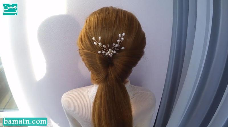 آموزش نحوه بافت مو پشت سر دخترانه ساده و شیک مناسب برای خانم ها