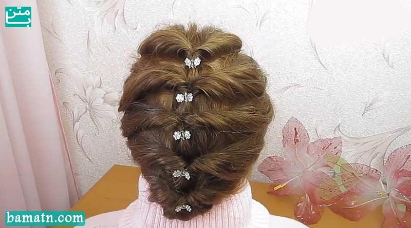 ویدیو آموزش روش بافت مو سر با متد ساده مناسب برای خانم ها