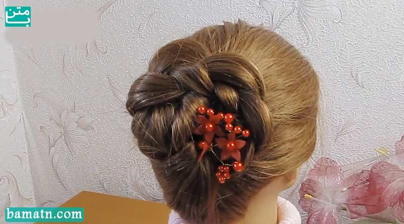 یادگیری روش بافت مو سر ساده مرحله به مرحله مناسب برای خانم ها