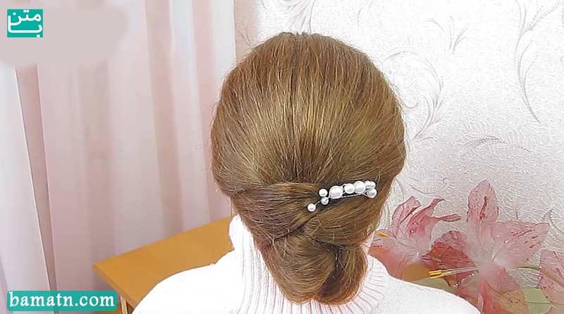 آموزش بافت مو سر دخترانه مناسب برای خانم ها با روش ساده
