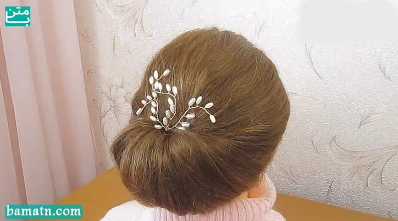 کلیپ آموزش بافت مو دخترانه مناسب برای خانم ها با روش زیبا و ساده