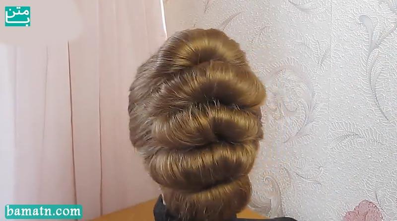 آموزش بافت مو زیبا و ساده دخترانه مناسب برای خانم ها