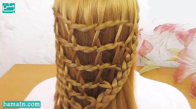 آموزش طرز بافت موی سر دخترانه مرحله به مرحله مناسب برای خانم ها