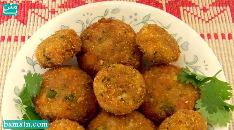 ویدیو طرز تهیه کوکو عدس با سبزی به همراه دستور پخت