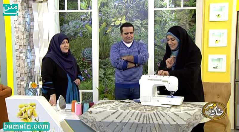 فیلم آموزش کار با چرخ خیاطی توسط خانم عمرانی به روش ساده