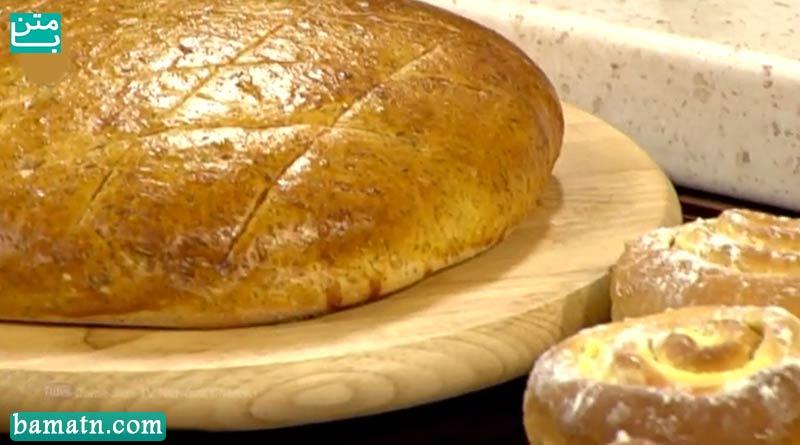 فیلم آموزش طرز تهیه نان سیب زمینی در فر به همراه دستور پخت