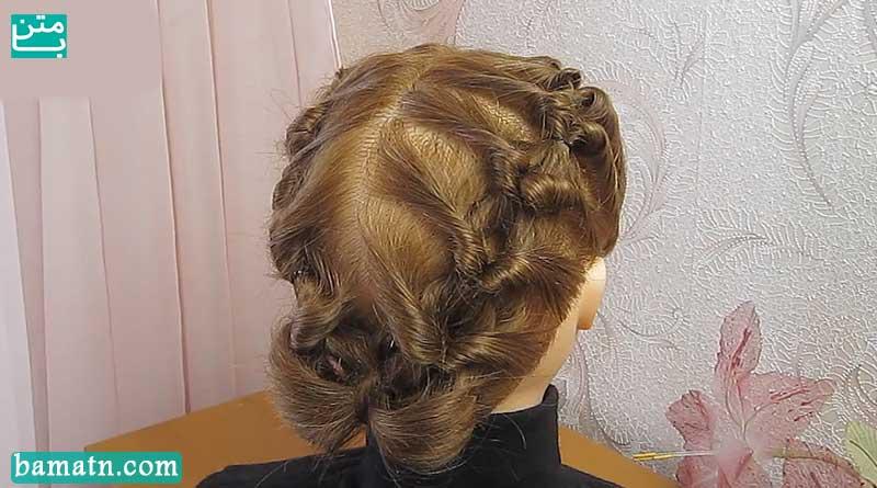 ویدیو آموزش بافت مو مرحله به مرحله مناسب برای خانم ها