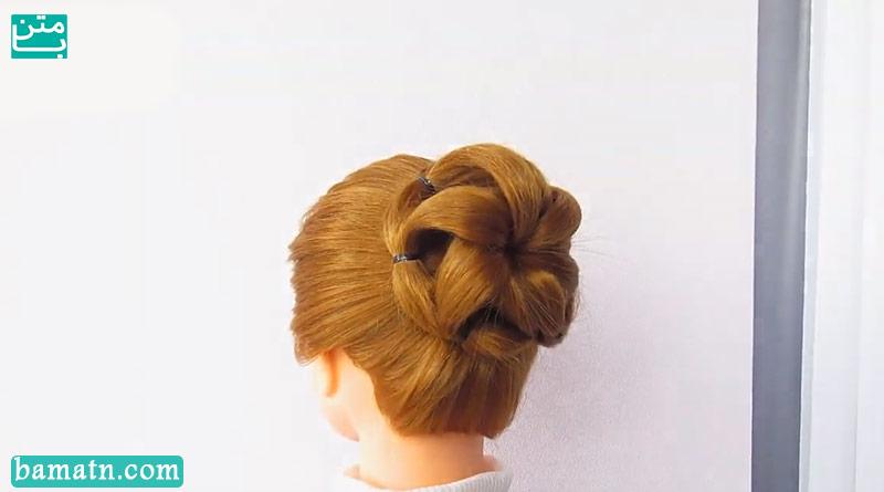 آموزش بافت مو دخترانه ساده و زیبا سری 30