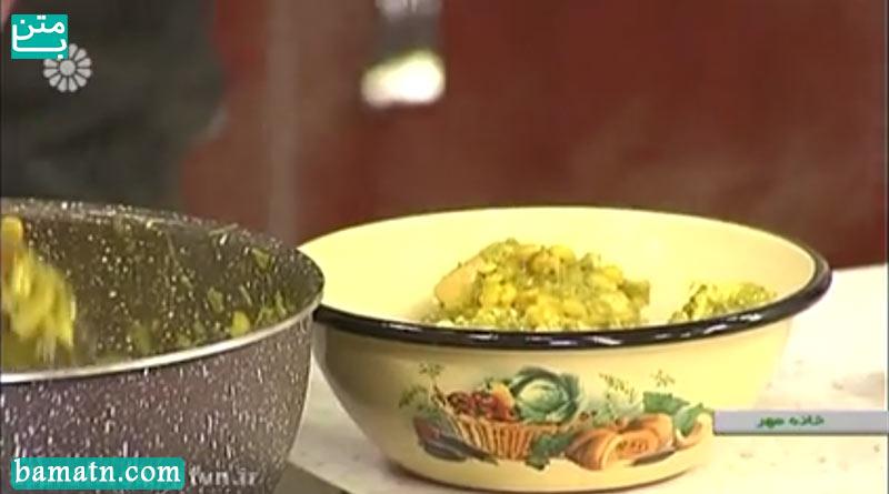 فیلم آموزش طرز تهیه خورش سیر قلیه گیلانی با دستور پخت