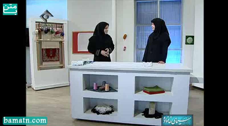 آموزش دوخت چادر چرخی یا چادر نماز خانم عمرانی