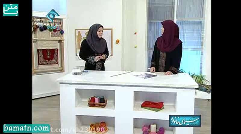 فیلم آموزش دوخت یقه انگلیسی سرخود با الگو خانم عمرانی