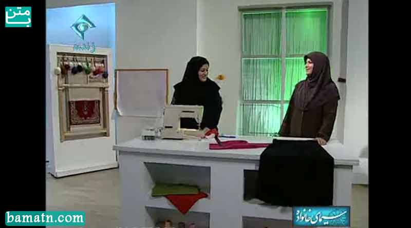 آموزش دوخت شلوار راحتی زنانه خانم عمرانی با الگو مناسب منزل