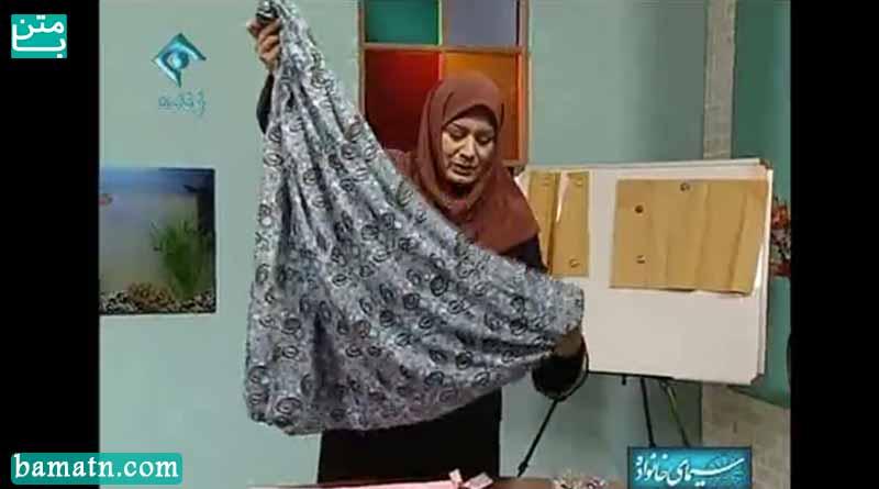 فیلم آموزش دوخت شلوار عثمانی خانم عمرانی با الگو خیاطی