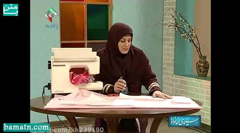 آموزش طریقه برش و دوخت شلوار خانم عمرانی