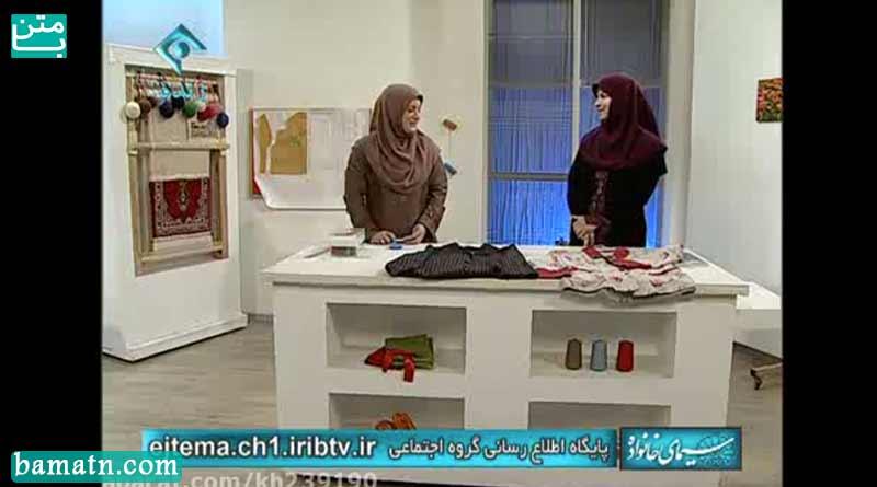 آموزش دوخت یقه آرشال سرخود با الگو خیاطی خانم عمرانی