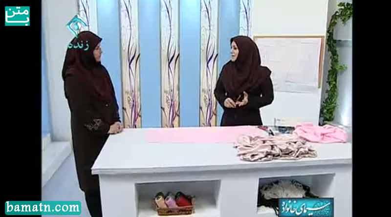 آموزش دوخت دامن مجلسی با الگو خانم عمرانی برای لباس عروس