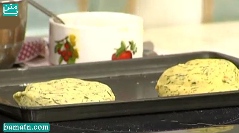 فیلم آموزش طرز تهیه نان شوید و قارچ خوشمزه با دستور پخت