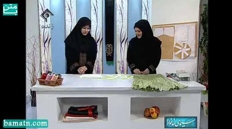 آموزش دوخت و نکات دامن ساده خانم عمرانی