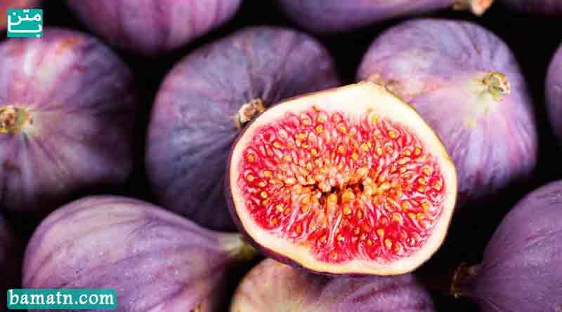 مواد مغذی در میوه انجیر