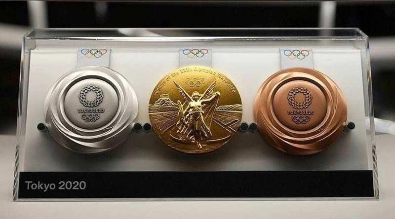 عکس مدال بازی های المپیک 2020 سال 2021 توکیو
