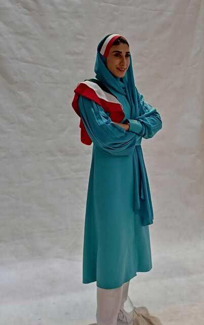 لباس رسمی زنان کاروان ایران در بازی های المپیک 2020 سال 2021 توکیو